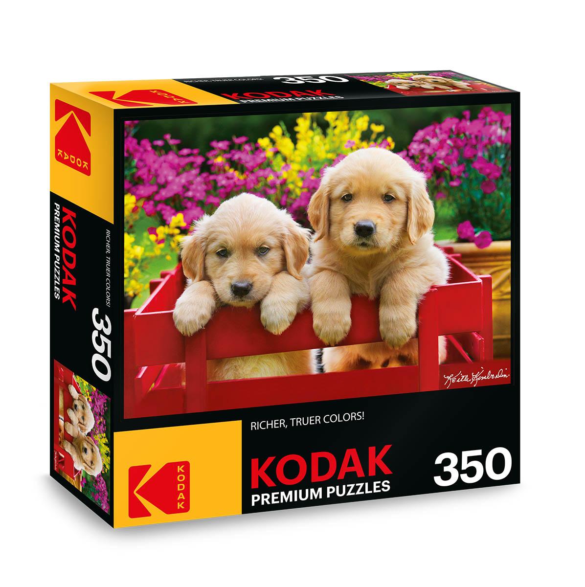KODAK Premium Puzzles - Adorable Puppies Dogs Jigsaw Puzzle
