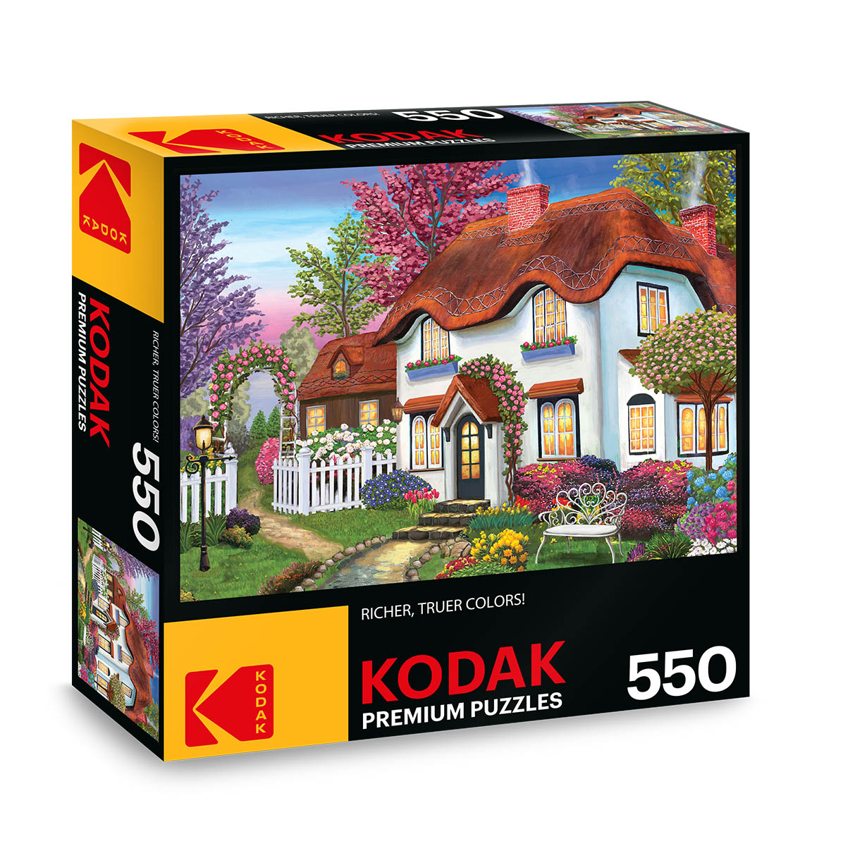 KODAK Premium Puzzles - Cozy Cottage Photography Jigsaw Puzzle