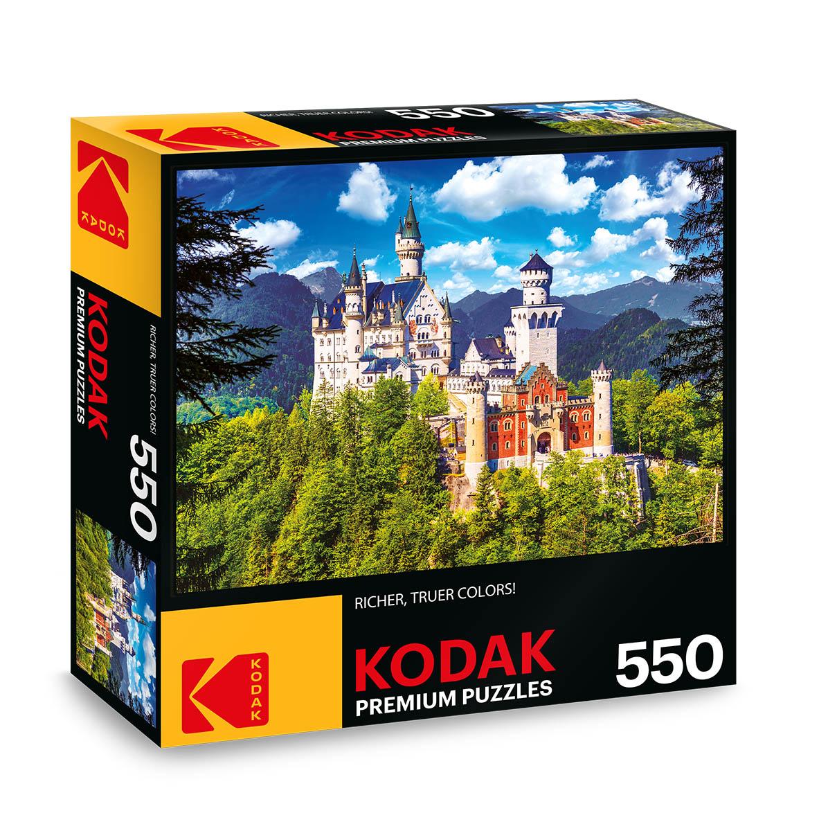 KODAK Premium Puzzles - Neuschwanstein Castle, Bavaria Castles Jigsaw Puzzle