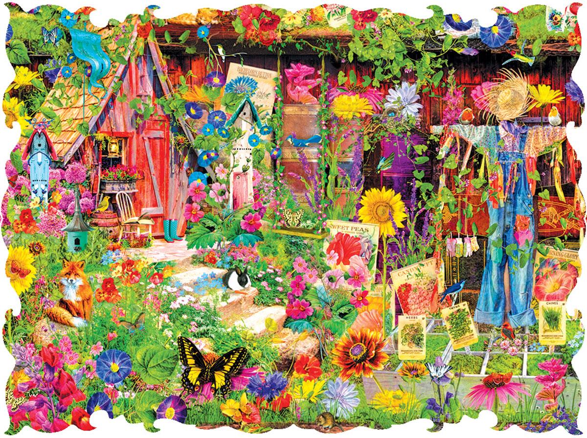 The Scarecrows Garden Garden Jigsaw Puzzle