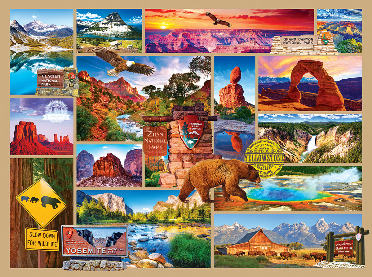 US National Parks United States Jigsaw Puzzle