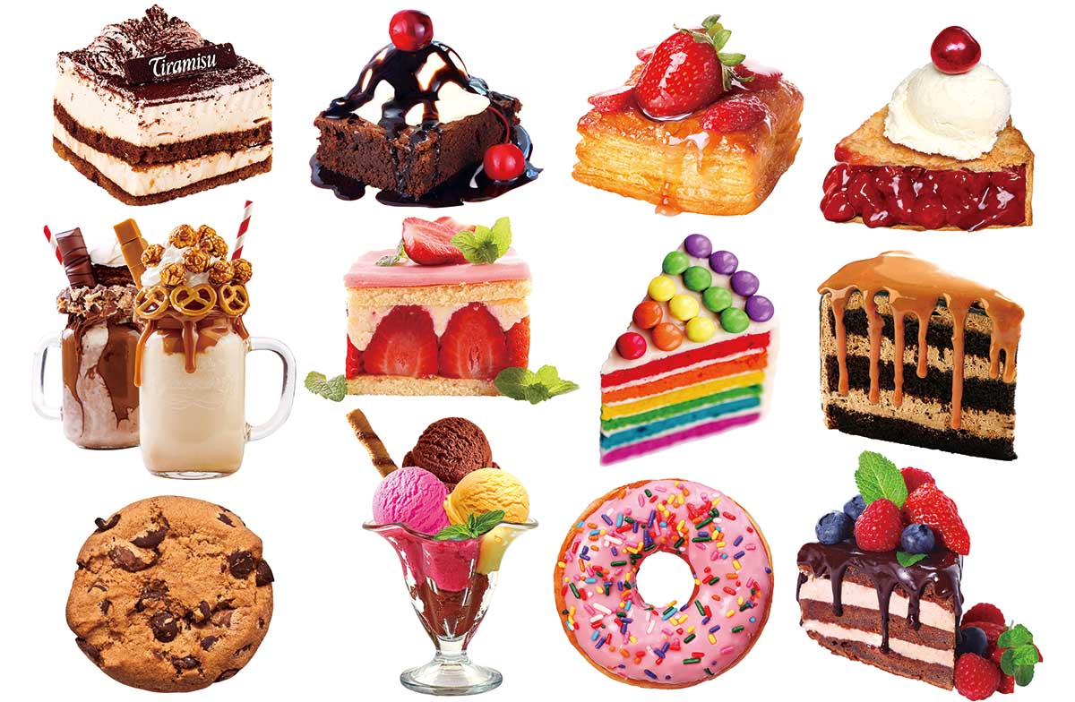 Dessert Delights I Sweets Shaped Puzzle