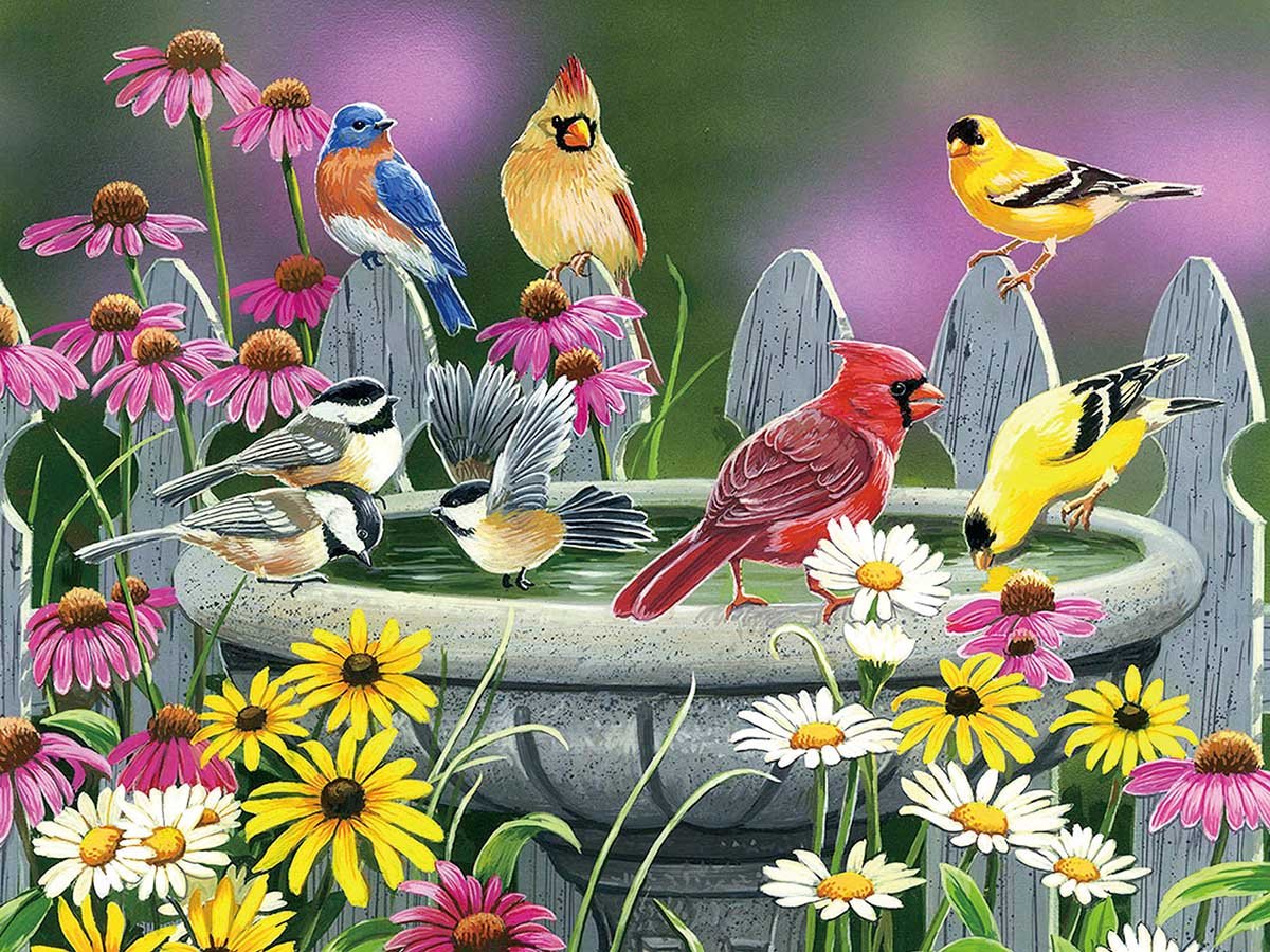 Learning to Fly Birds Jigsaw Puzzle