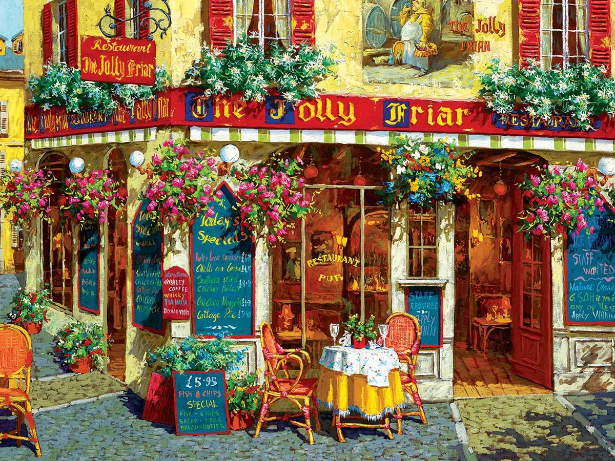Jolly Friar Street Scene Jigsaw Puzzle