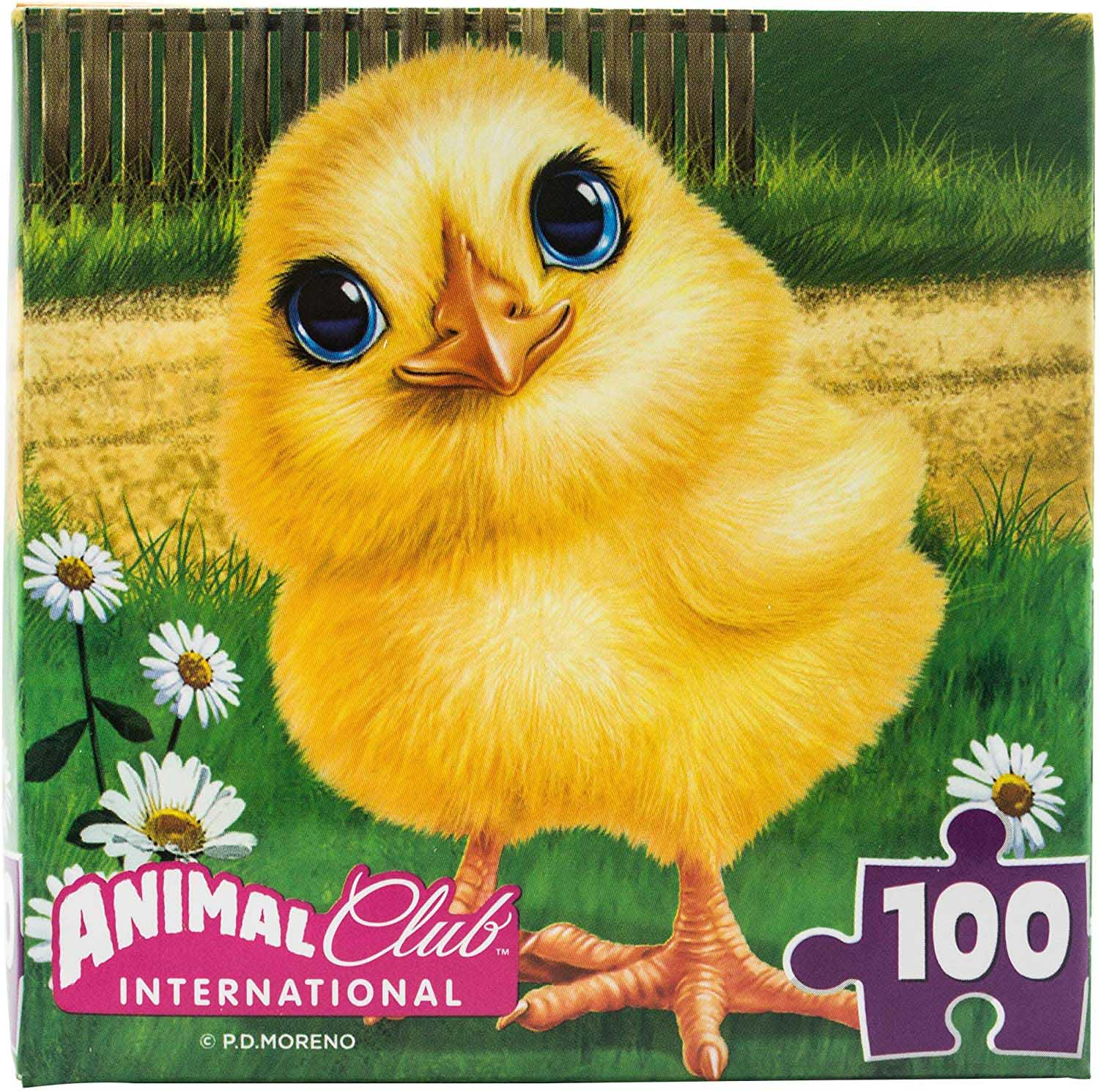 Animal Club Cube Baby Chick Birds Jigsaw Puzzle