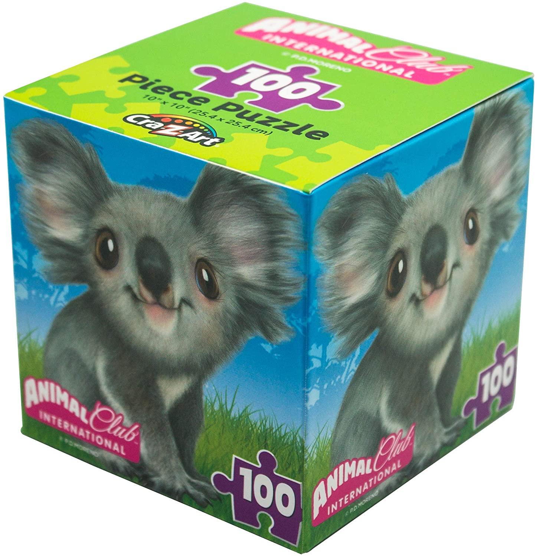 Animal Club Cube Koala Animals Jigsaw Puzzle