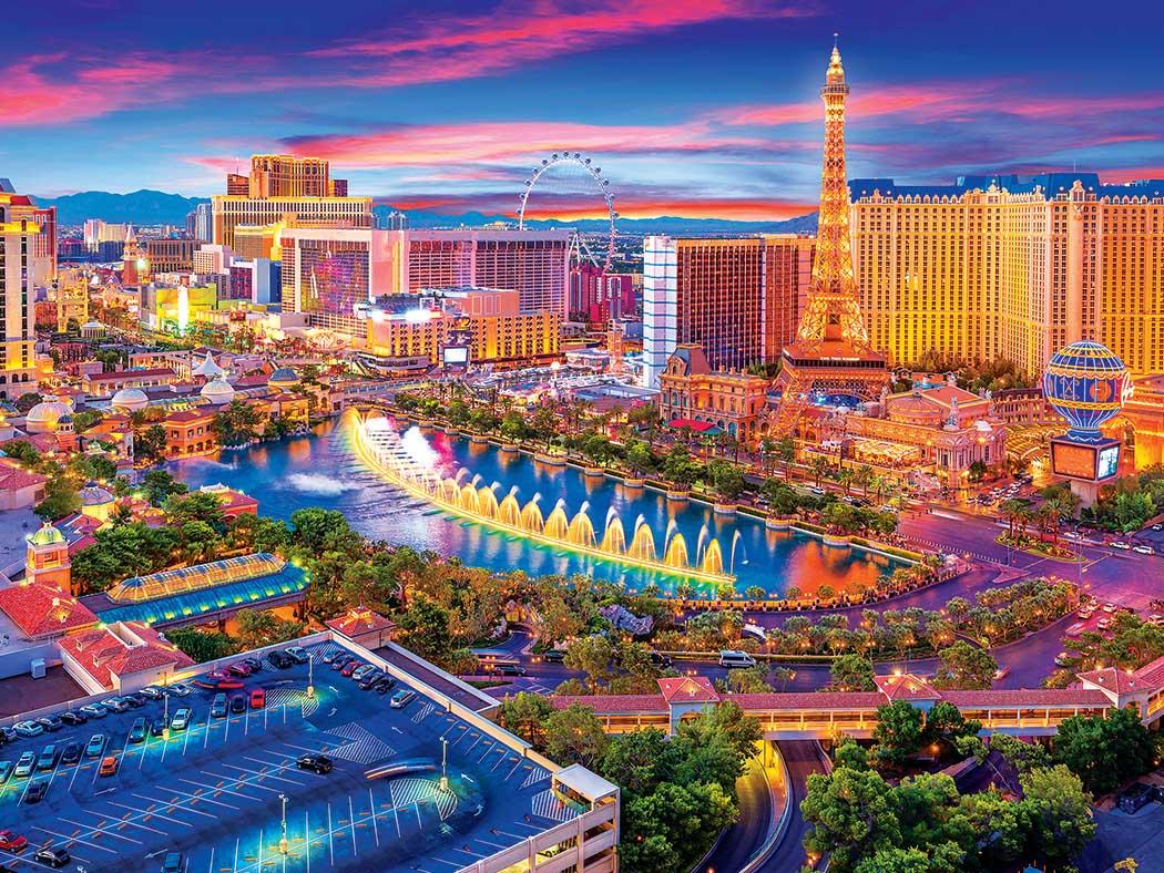Las Vegas Strip Las Vegas Jigsaw Puzzle