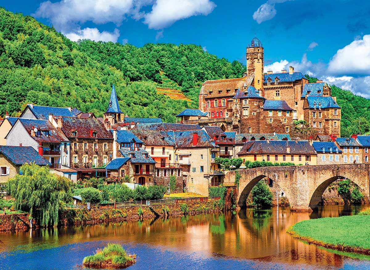 Estaing Pyrenees, France France Jigsaw Puzzle