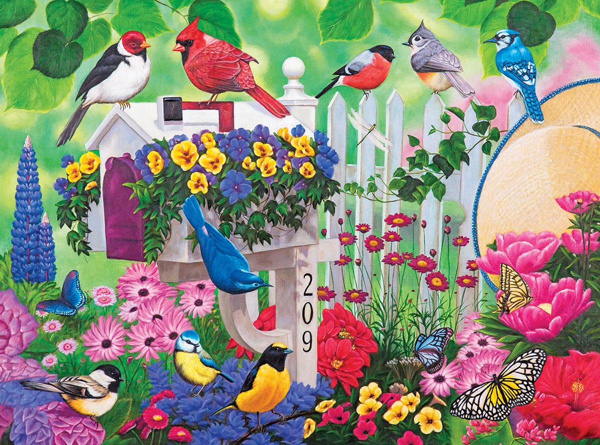 Weekly Garden Gathering Jigsaw Puzzle Puzzlewarehouse Com