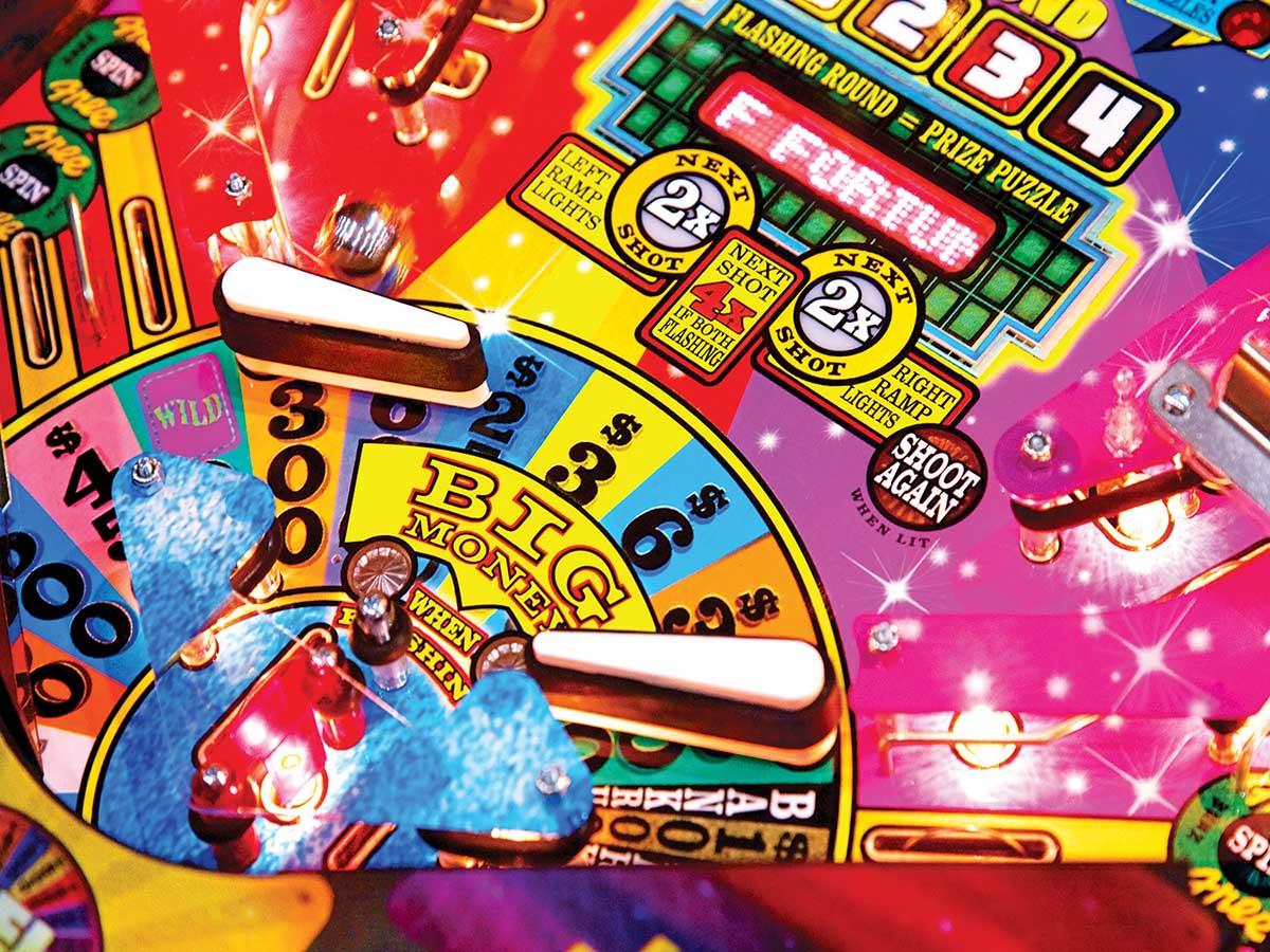 Fun Pinball Game Nostalgic / Retro Jigsaw Puzzle