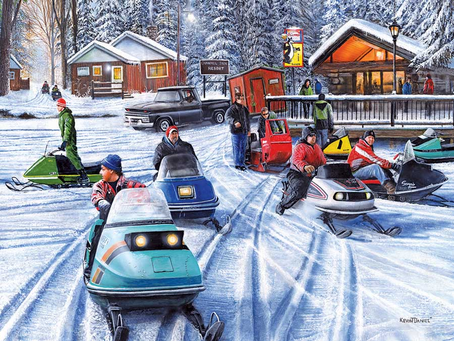 Poker Runs II Winter Jigsaw Puzzle