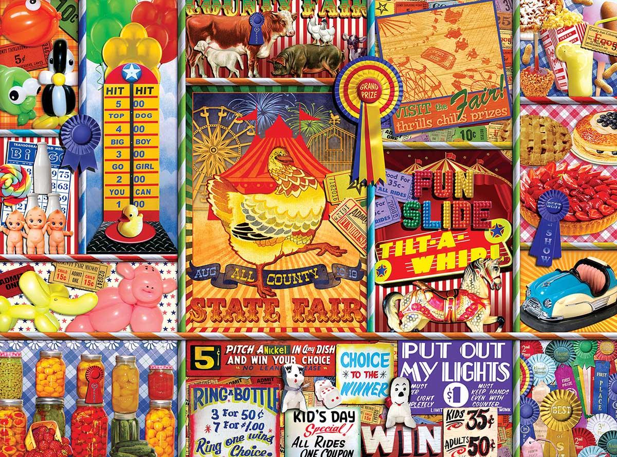 State Fair Carnival Jigsaw Puzzle