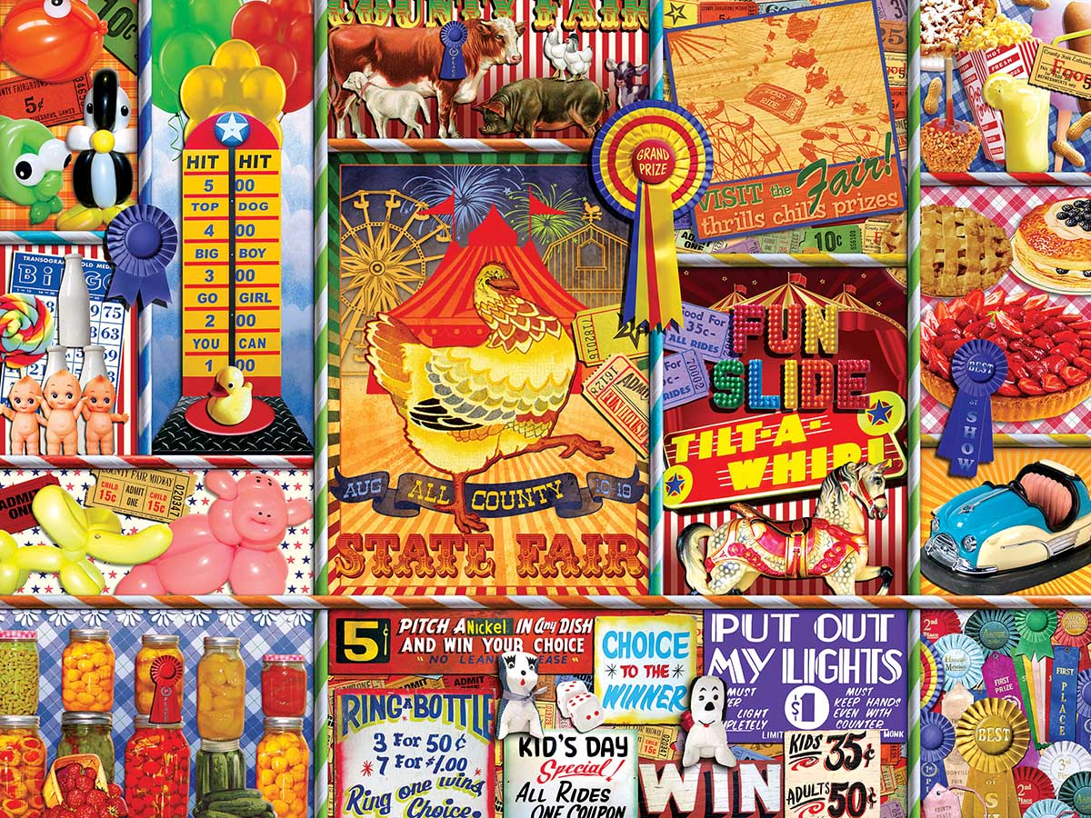 State Fair Carnival Jigsaw Puzzle