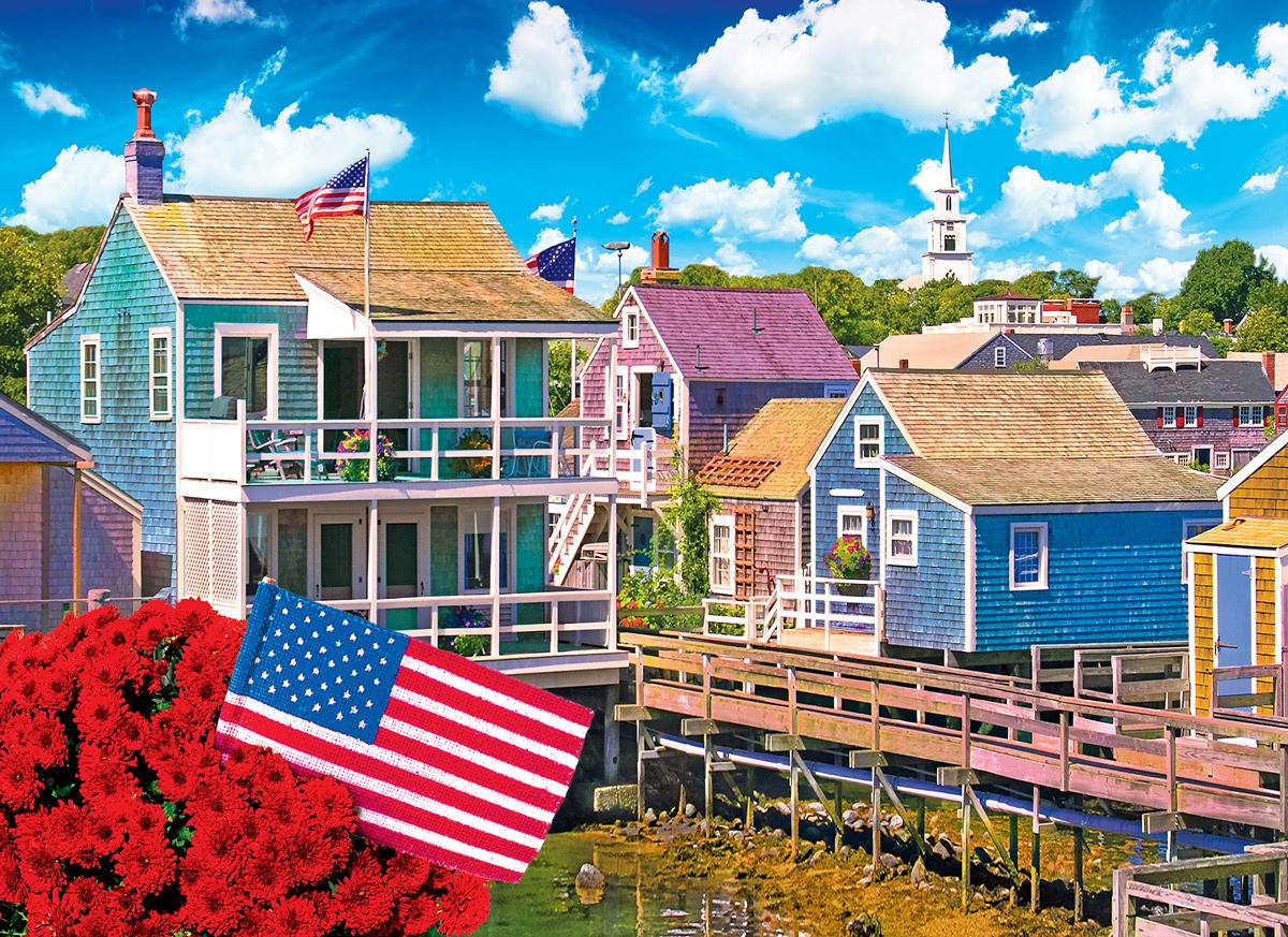Nantucket, Massachusetts Seascape / Coastal Living Jigsaw Puzzle