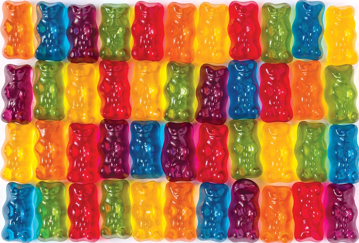 Cra-Z Lolly Bears Sweets Jigsaw Puzzle