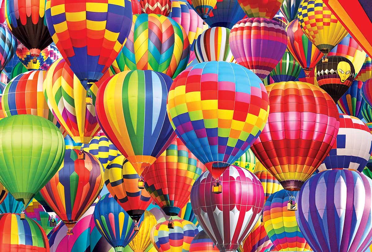 Cra-Z Hot Air Balloons Balloons Jigsaw Puzzle