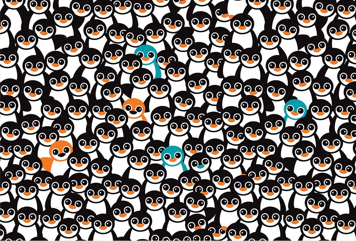 Cra-Z Penguins Birds Jigsaw Puzzle