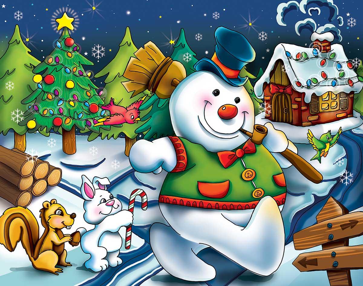 Snowman Snowman Jigsaw Puzzle