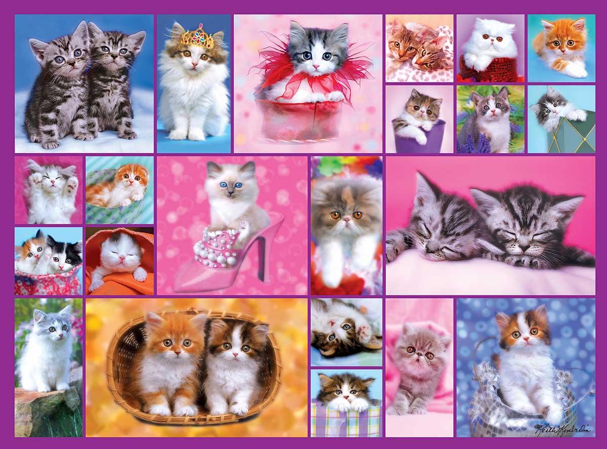 Kittens II Cats Jigsaw Puzzle
