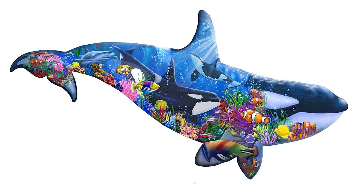 Orca Dreams Animals Jigsaw Puzzle