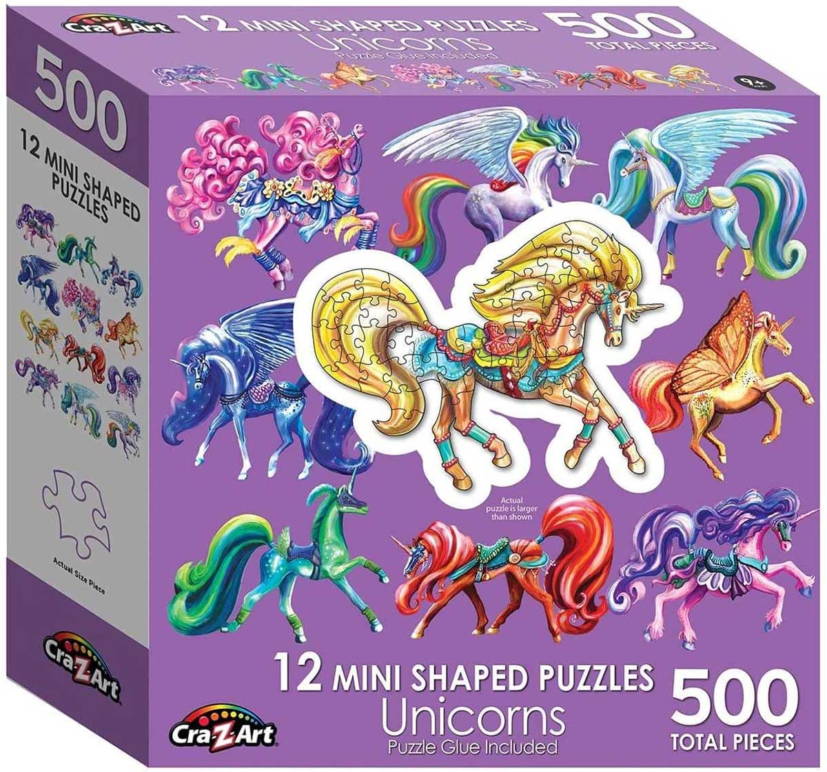 Unicorn Unicorns Shaped Puzzle