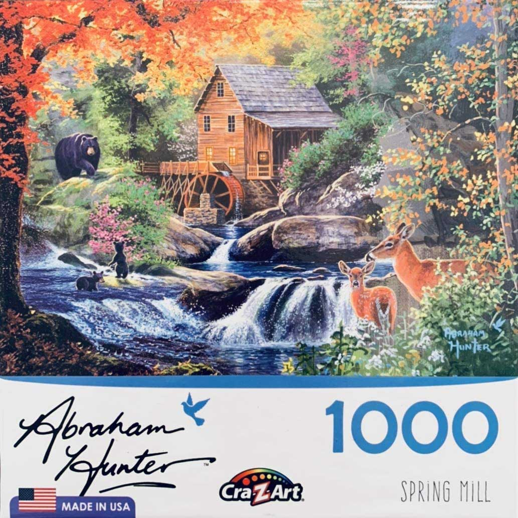 Spring Mill Animals Jigsaw Puzzle
