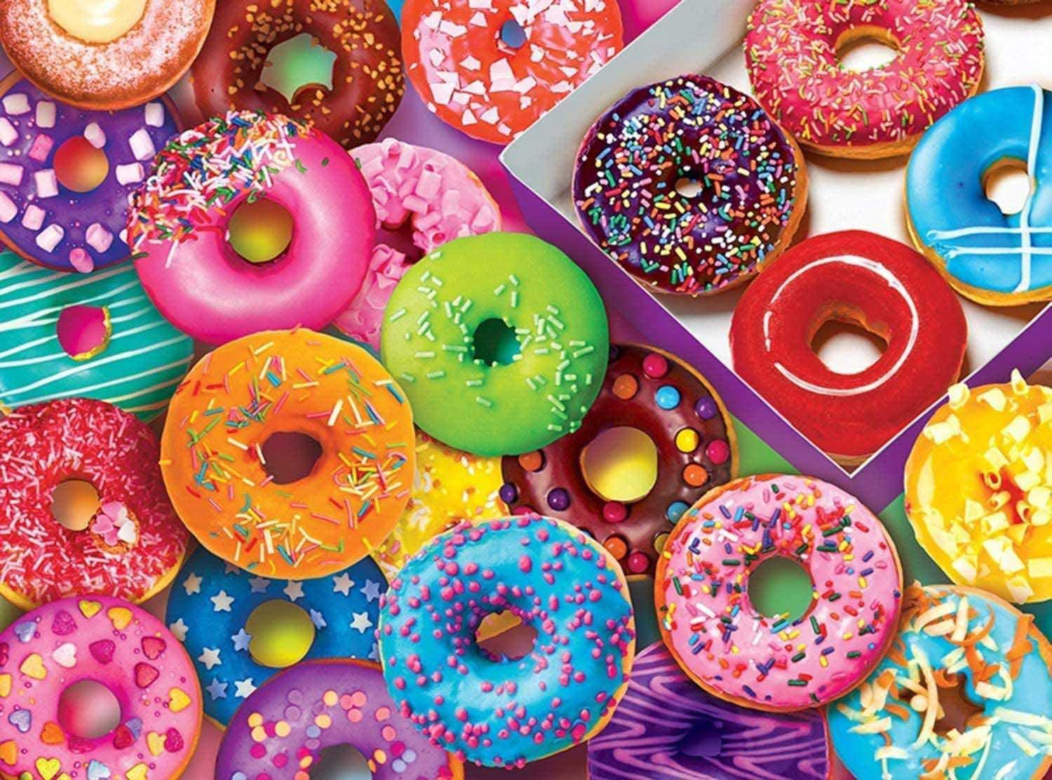 I Love Donuts Sweets Jigsaw Puzzle