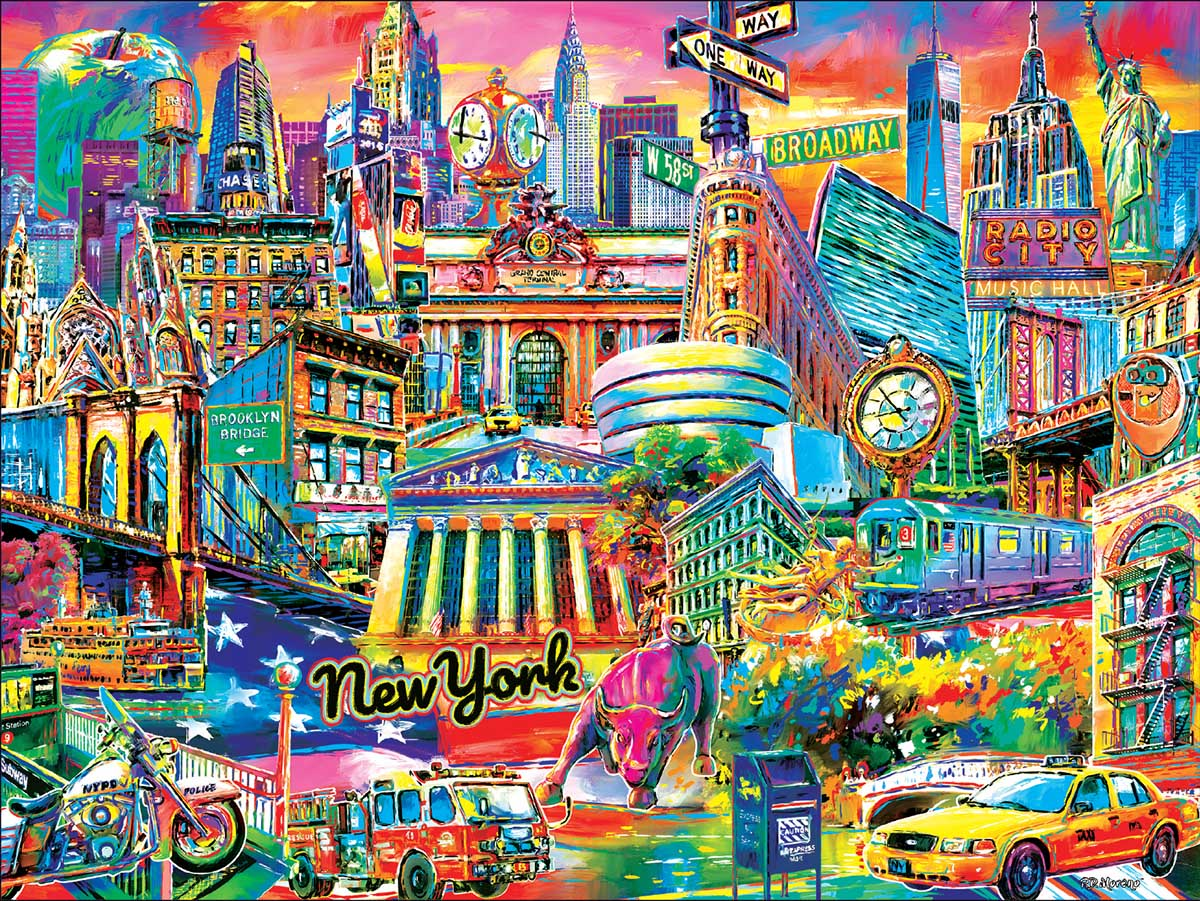 I Heart New York New York Jigsaw Puzzle