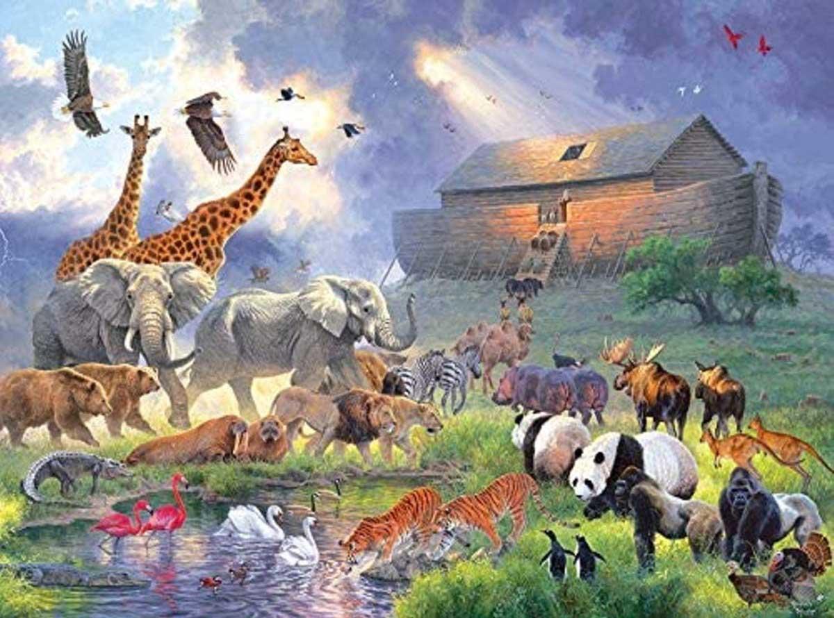 Inspirations - Noahs Ark Animals Jigsaw Puzzle