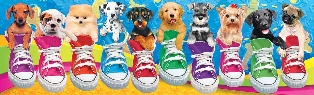 Sneaky Pups All Stars Dogs Jigsaw Puzzle