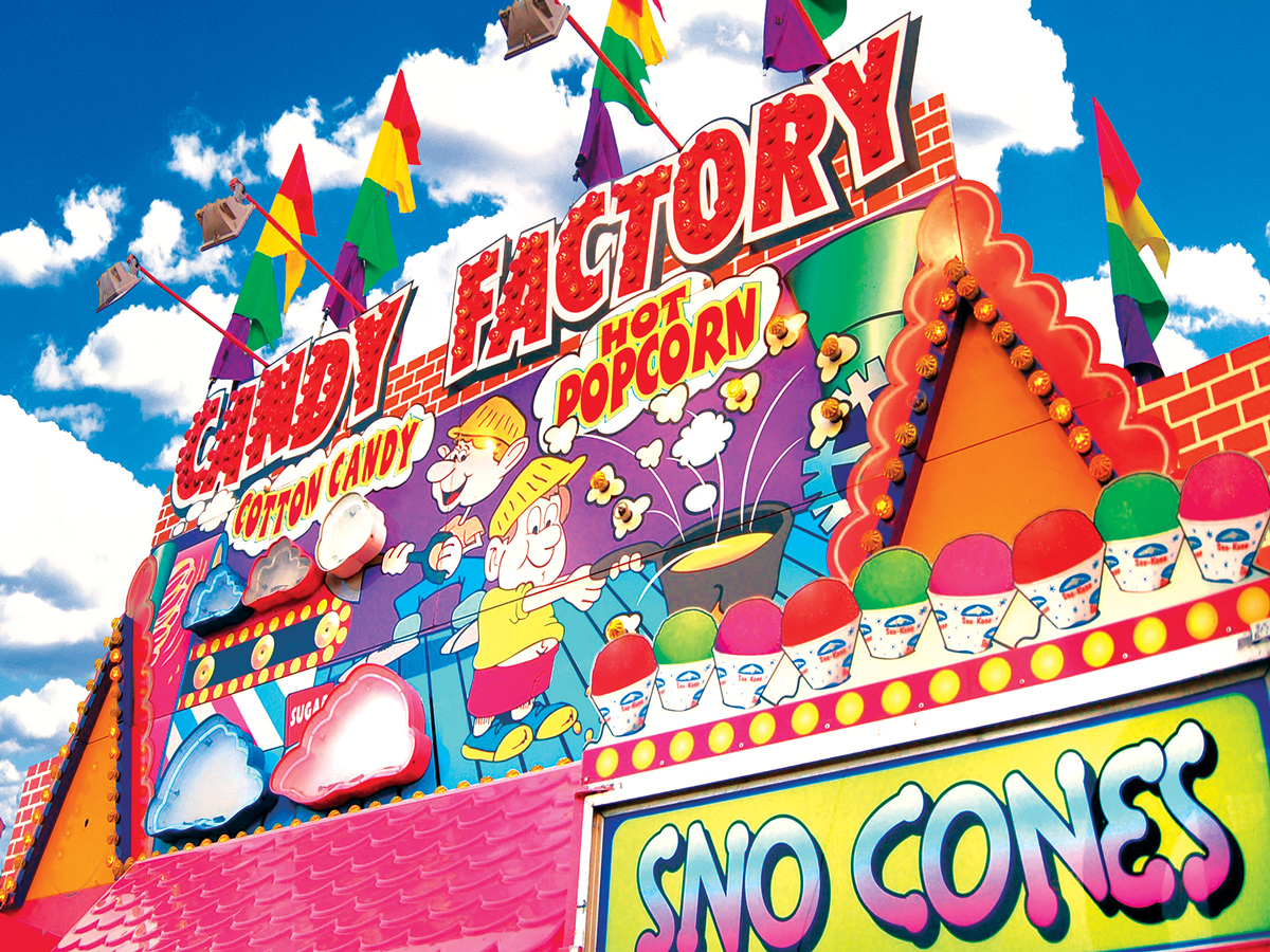Candy Factory Food and Drink Jigsaw Puzzle