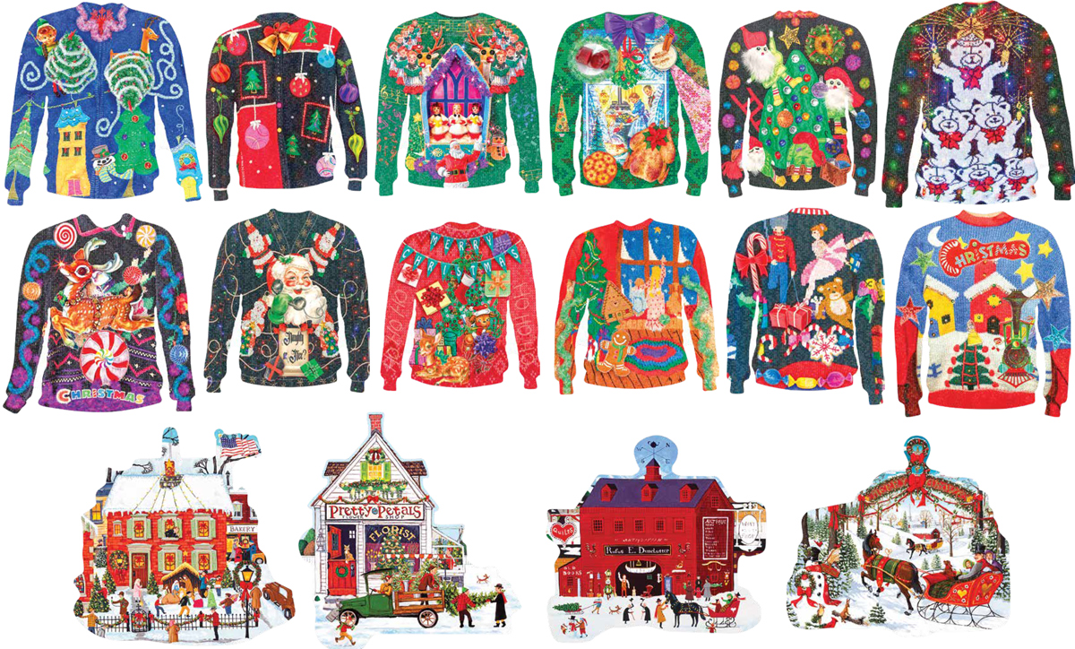 Holiday Fun Snowman Jigsaw Puzzle