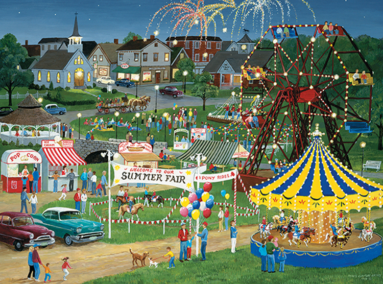 Country Fair Countryside Jigsaw Puzzle