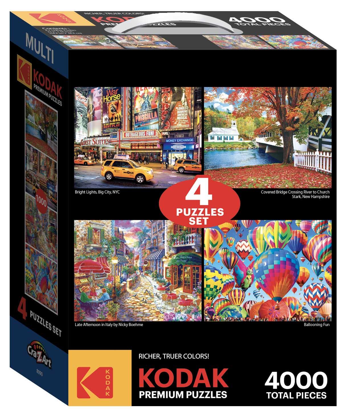 Kodak 4 In 1 Travel Jigsaw Puzzle