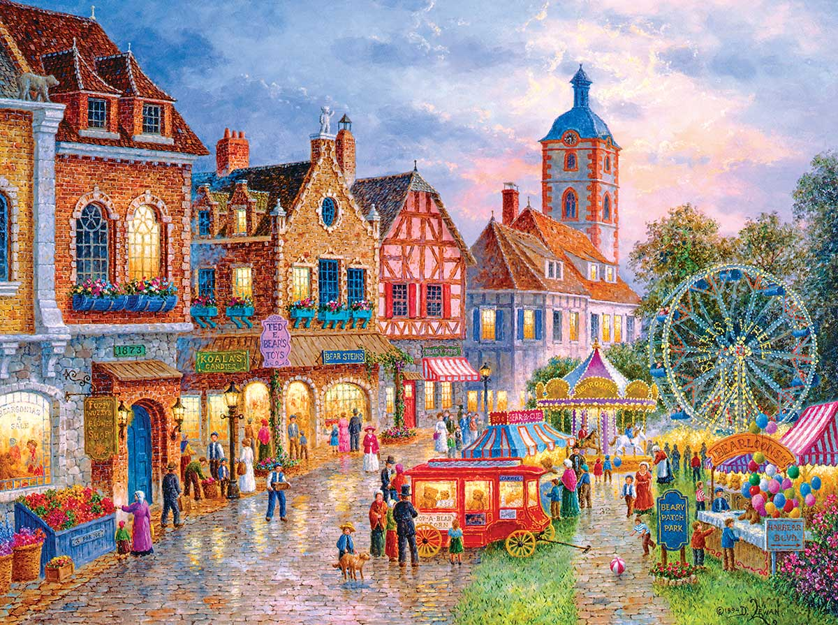 Beary Park Light Up Puzzle Carnival Jigsaw Puzzle