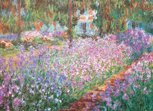 Monet's Garden - Scratch and Dent Fine Art Jigsaw Puzzle
