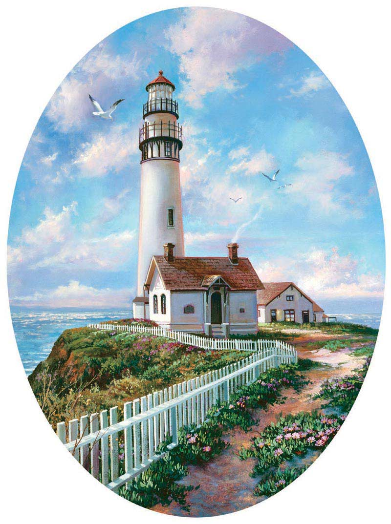 Pigeon Point Lighthouses Jigsaw Puzzle