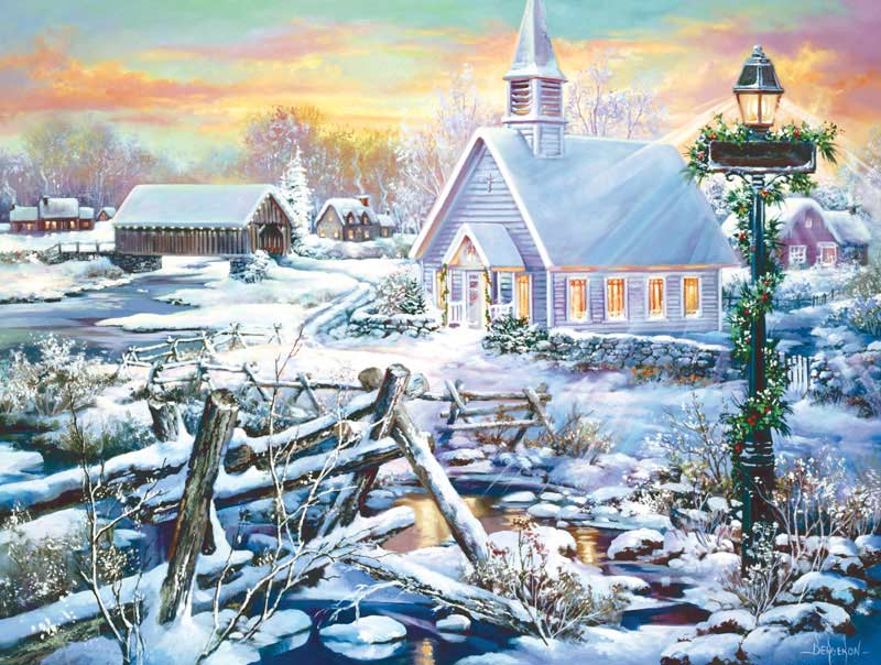 Perfect Peace Churches Jigsaw Puzzle