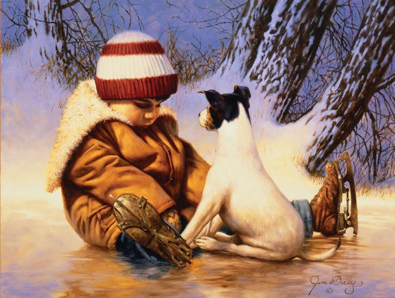 Pep Talk Winter Jigsaw Puzzle
