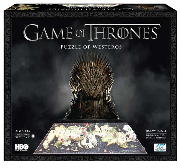 Game of Thrones:  Westeros Maps / Geography Jigsaw Puzzle