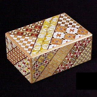 4 Sun 27 Step Koyosegi - Kakutaya Puzzle Box