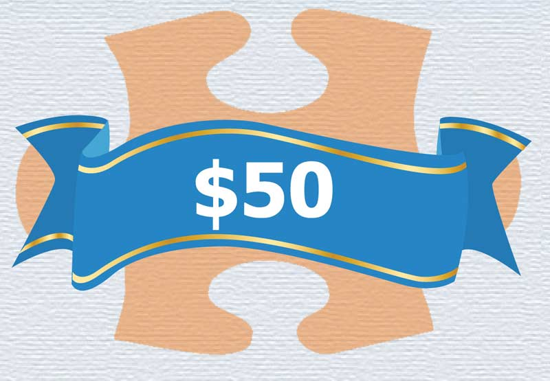 Life Skills - $50 Donation Vehicles Jigsaw Puzzle