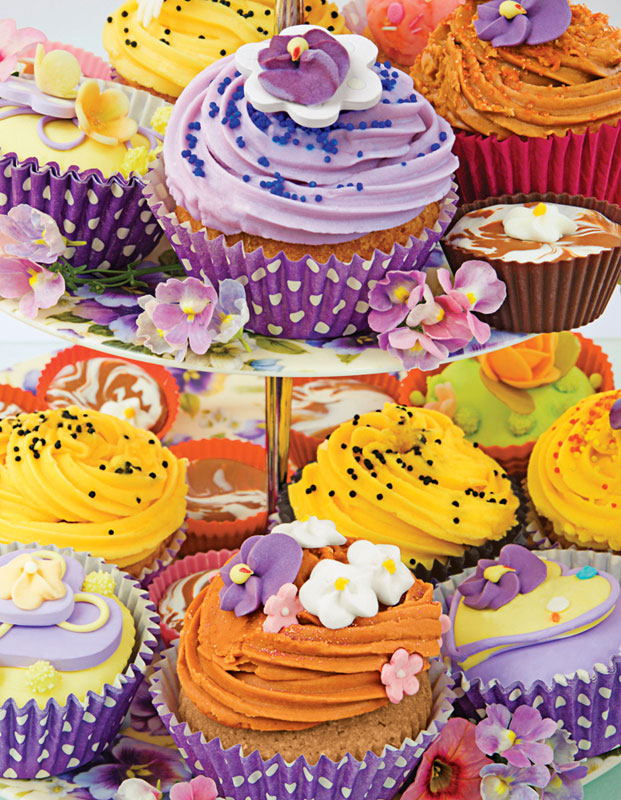 Cupcakes Food and Drink Children's Puzzles