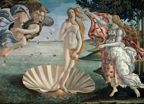Birth of Venus - Scratch and Dent Fine Art Jigsaw Puzzle