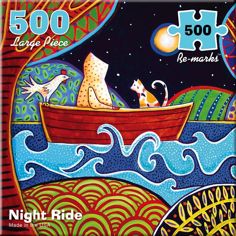 Night Ride Cats