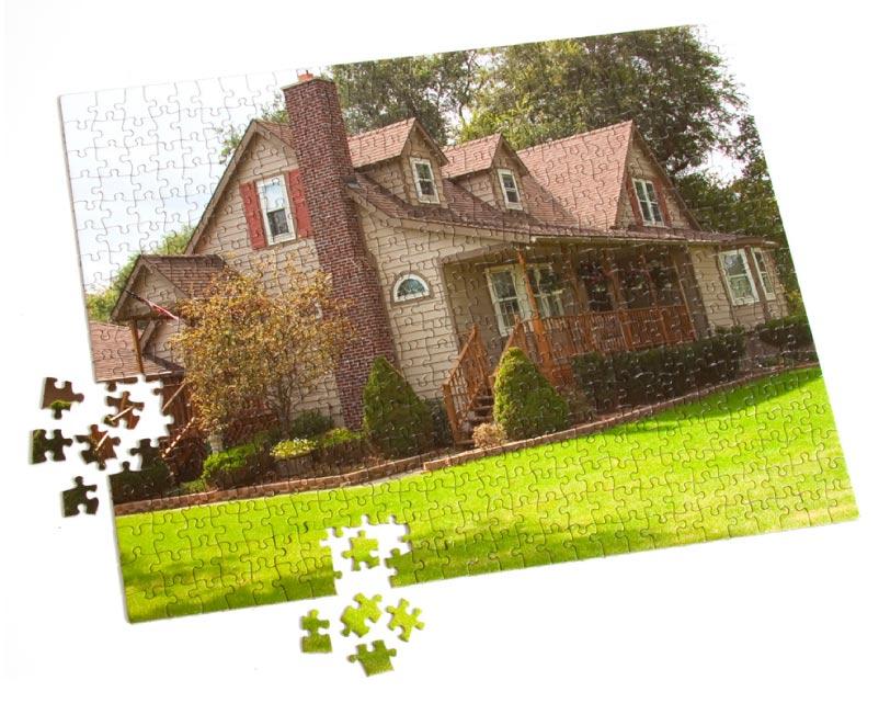 500 Piece Custom Cardboard Jigsaw Puzzle - 16 x 20 Custom Jigsaw Puzzle