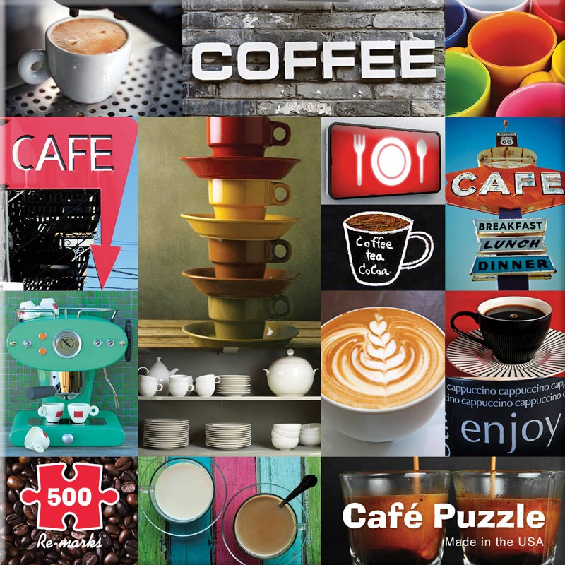 Cafe Food and Drink Jigsaw Puzzle