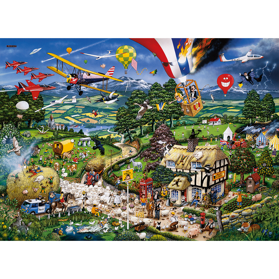 I Love the Country - Scratch and Dent Countryside Jigsaw Puzzle