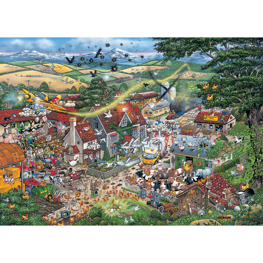 I Love the Farmyard Farm Jigsaw Puzzle