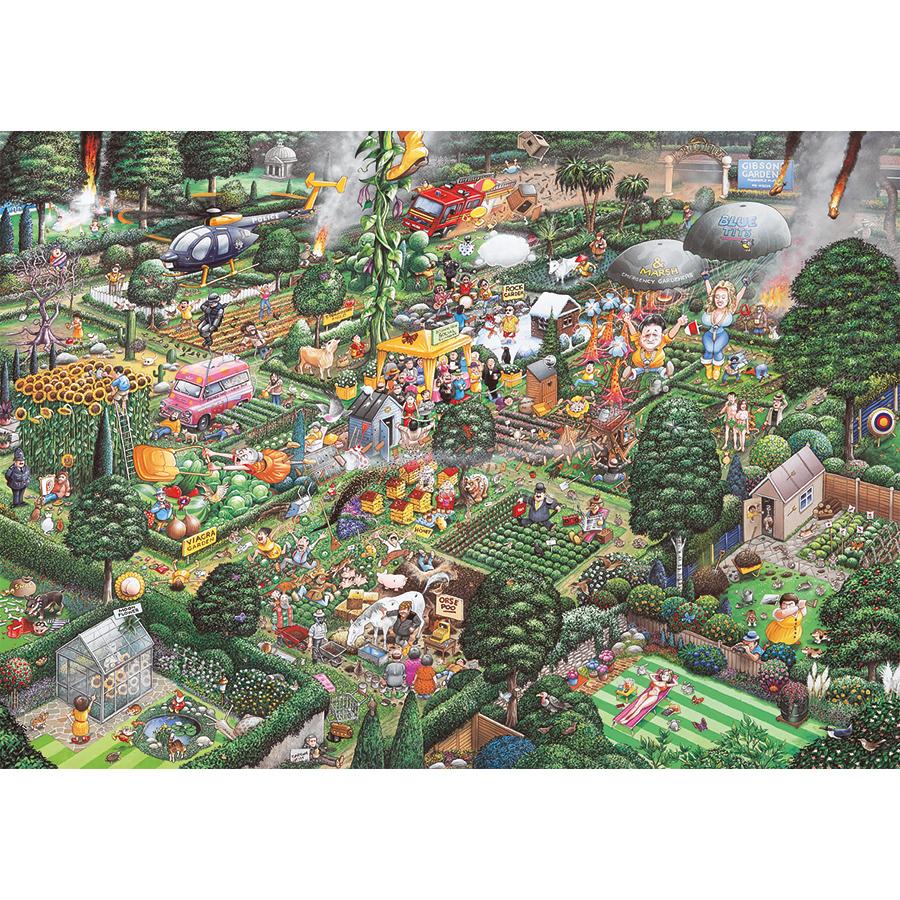 I Love Gardening Flowers Jigsaw Puzzle
